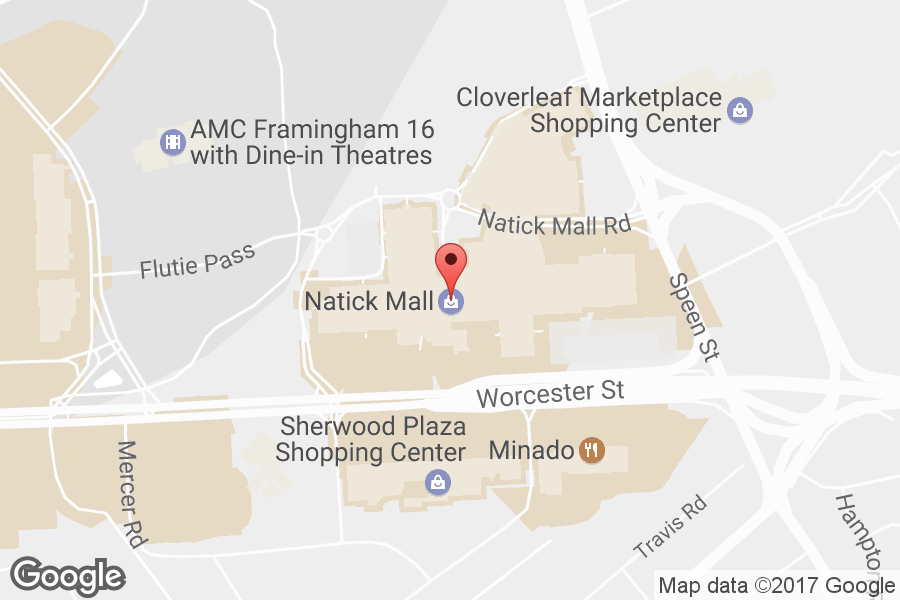 Map of Natick Mall - Click to view in Google Maps